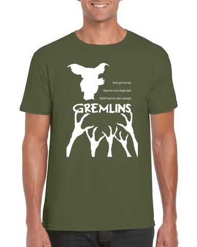 Ryan Black Gremlins T-shirt | Adult