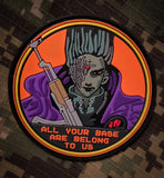 All Your Base Airsoft Patch