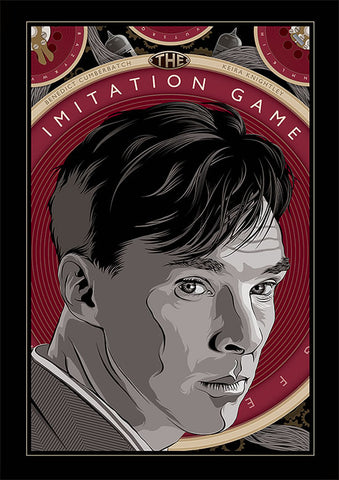 Ollie Boyd 'The Imitation Game' art poster