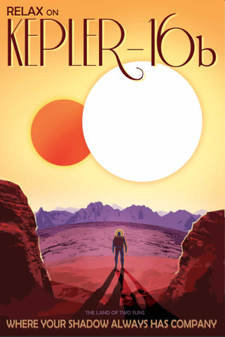"NASA ""Kepler-16b"" Visions of the future series"