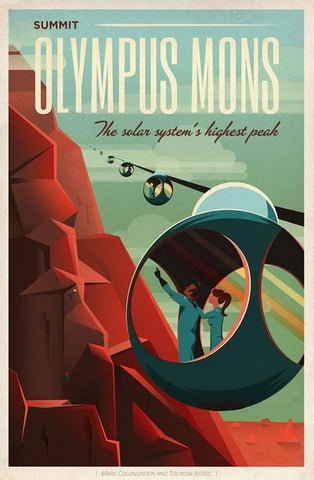 "SpaceX ""Olympus Mons"" space travel series"