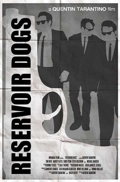 Ryan Black 'Reservoir Dogs' art poster