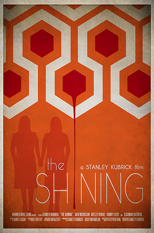 Ryan Black 'The Shining' art poster