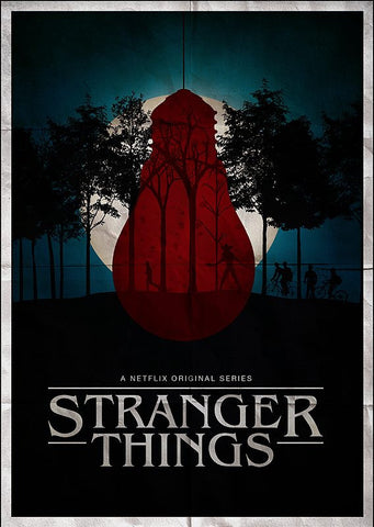 Ryan Black 'Stranger Things' art poster