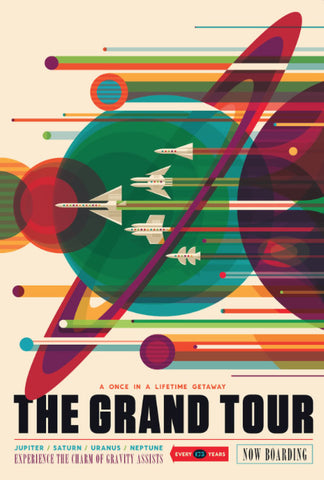 "NASA ""The Grand Tour"" Visions of the future series"