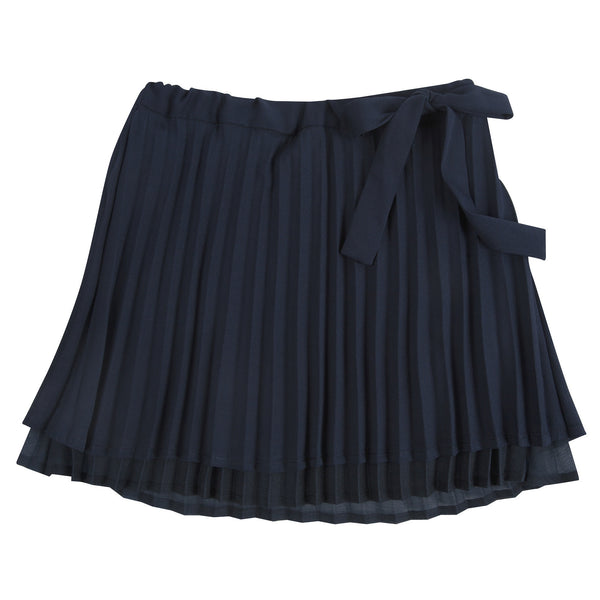 Sweet Pleat: Navy Chiffon Skirt - Shopify