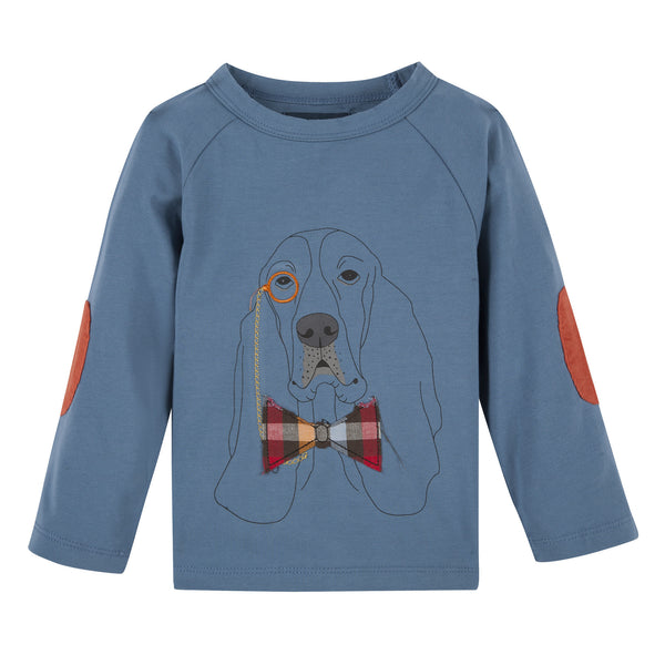 Blue Hound L/S Graphic Tee - Shopify