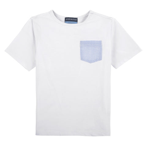 Seer Pocket Tee: White - Shopify