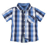Lil' Drummer Boy: Buffalo Check Shirtzie™/Shirt - Shopify