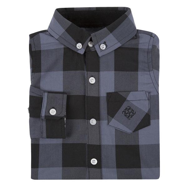 Grey Buffalo Check Shirt - Shopify