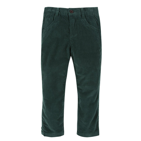 Hunter Green Corduroy Pants