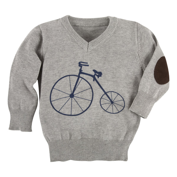 Grey Bicycle Sweater - Shopify