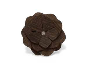The Wenge Way - Wooden Lapel Flower