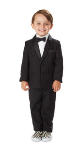 The Classic: Black Three Piece Tuxedo Set