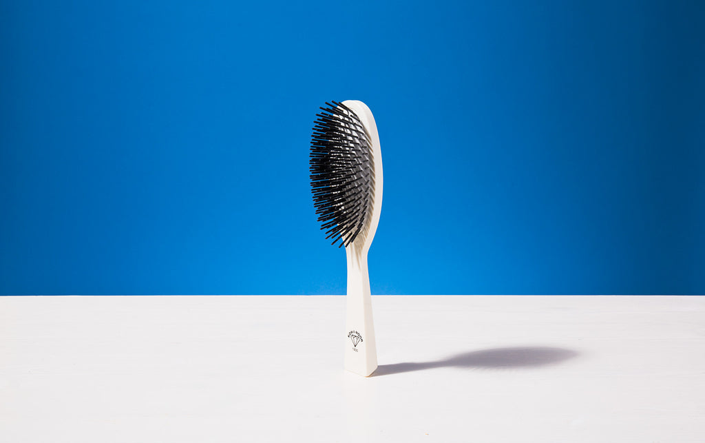 Large Hair Brush, Ivory colour