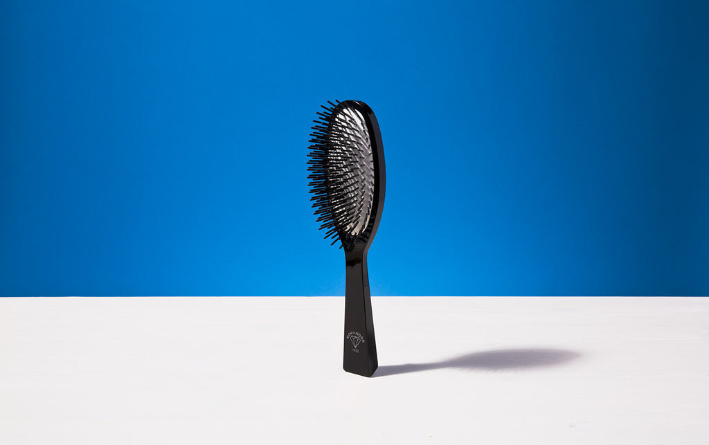 Large Hair Brush, Black