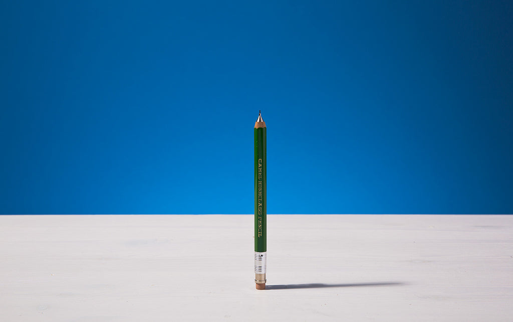 Green Mechanical short pencil
