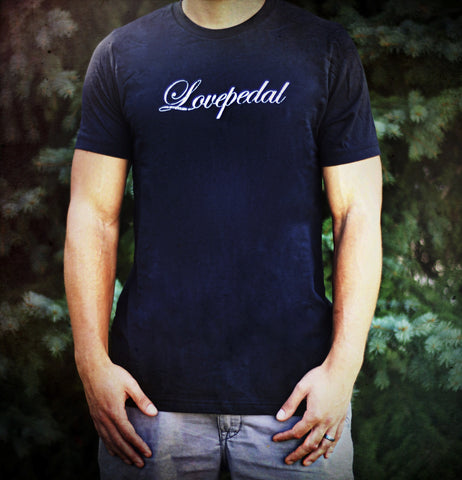 SUPER STUD AWESOME VINTAGE Lovepedal T shirt in Vintage Black