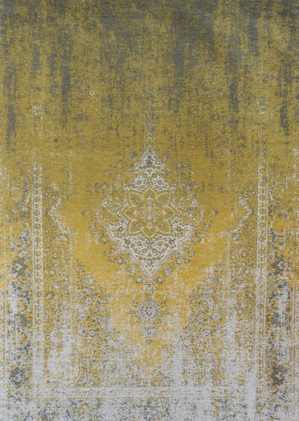 Vintage Fade Ochre Love Is A Rug