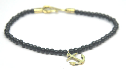 Hook-Up Beads & Anchor Anklet