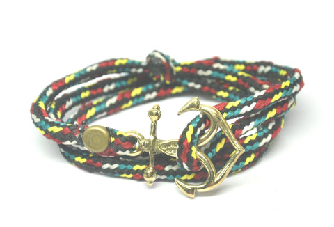 Anchor Mejore Rio Triple Wrap Bracelet