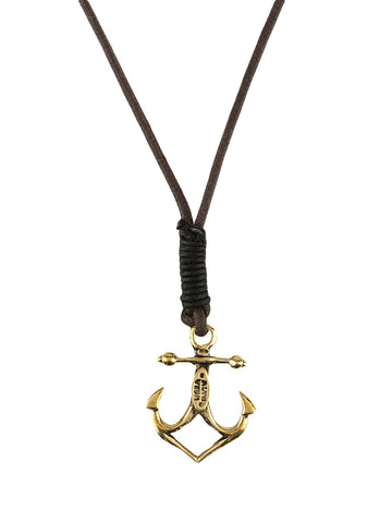 Anchor Mejore Cord-Necklace
