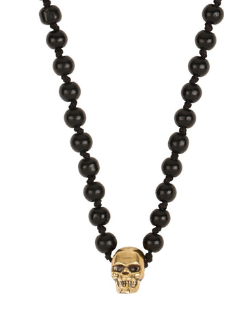Skully Beaded Necklace