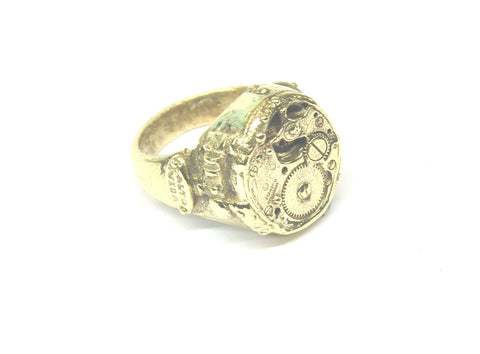 The Machine Steampunk Ring