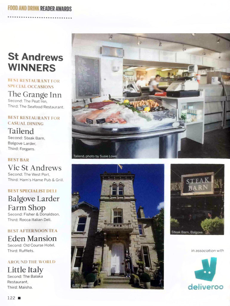 Balgove Larder Farm Shop St Andrews i-on Magazine Food and Drink Awards