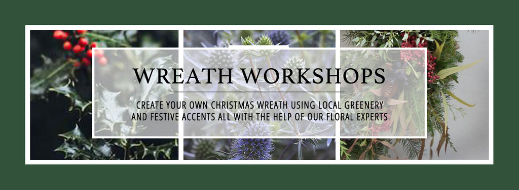 Balgove Larder Flower Shed Wreath Workshop