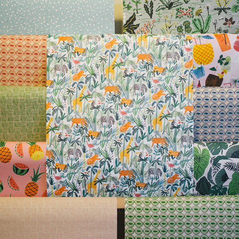 Gift Wrap - Jungle Animals