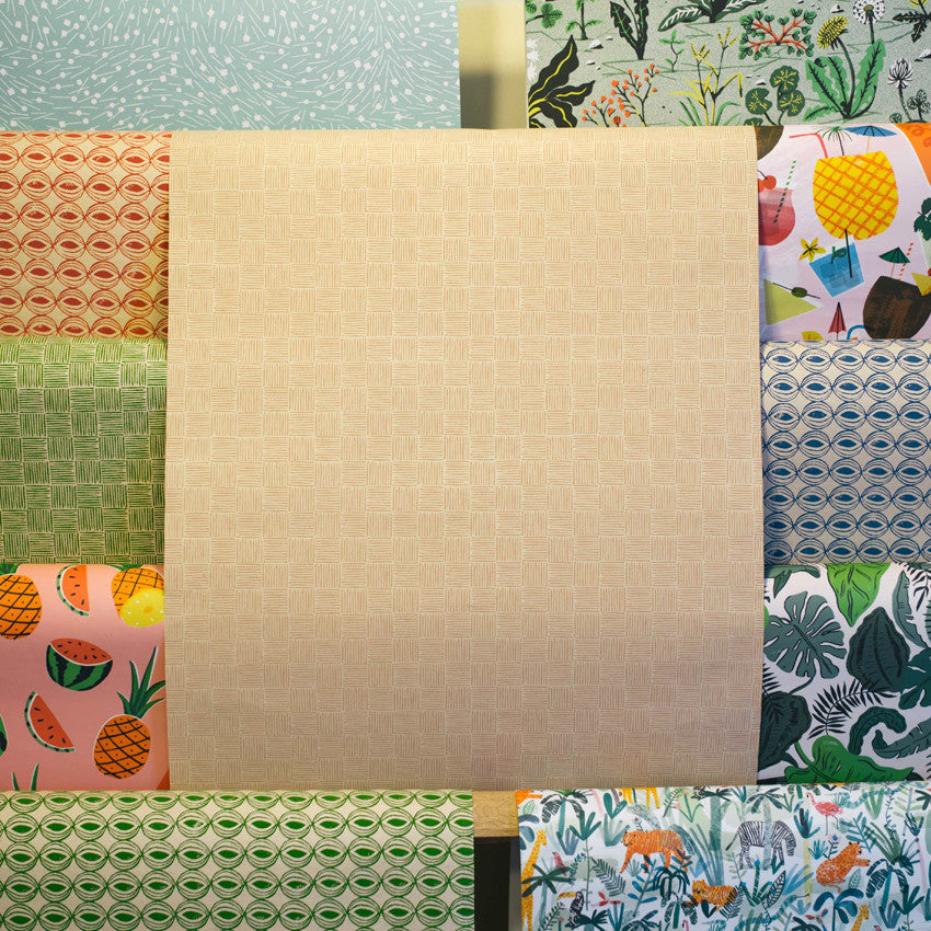 Gift Wrap - Basketweave
