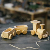 Wooden Pull Along & Push Along Toys