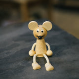 Wooden String Animal Toys