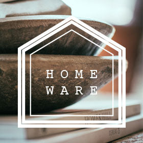We work with artisan suppliers to bring an evolving range of homeware in store