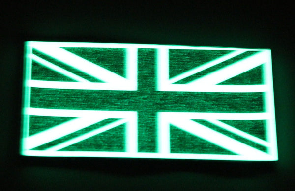 Glow in the Dark Union Jack Patch