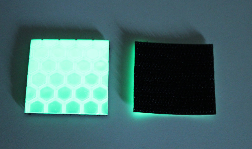READYMAN VELCRO  REFLECTIVE AND GLOW IN THE DARK PATCH