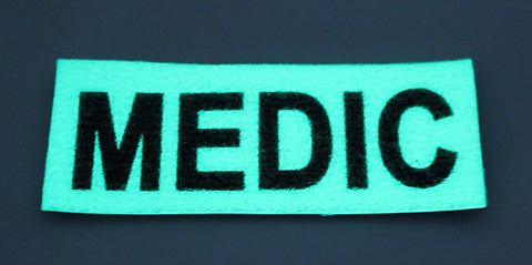 "Glow in the Dark ""MEDIC"" Patch"