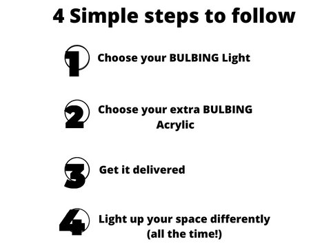 4 steps to get your BULBING deal