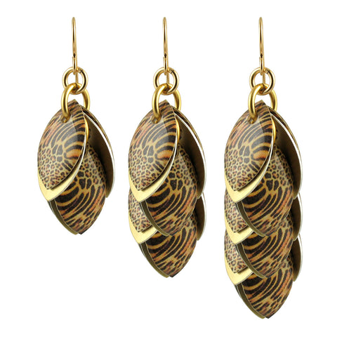 Every Girl Needs a Jaguar Earrings in three available lengths - Diana Ferguson Jewelry