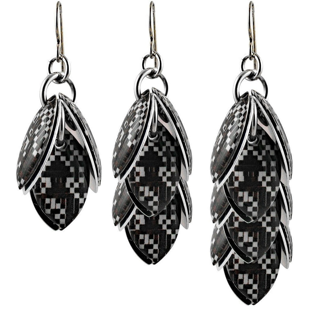 Audio Digital Artful Statement Earrings - 3 Lengths - $95 to $225
