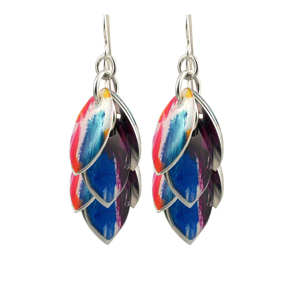 Color Wash Earrings - 3 Lengths - $95 to $225