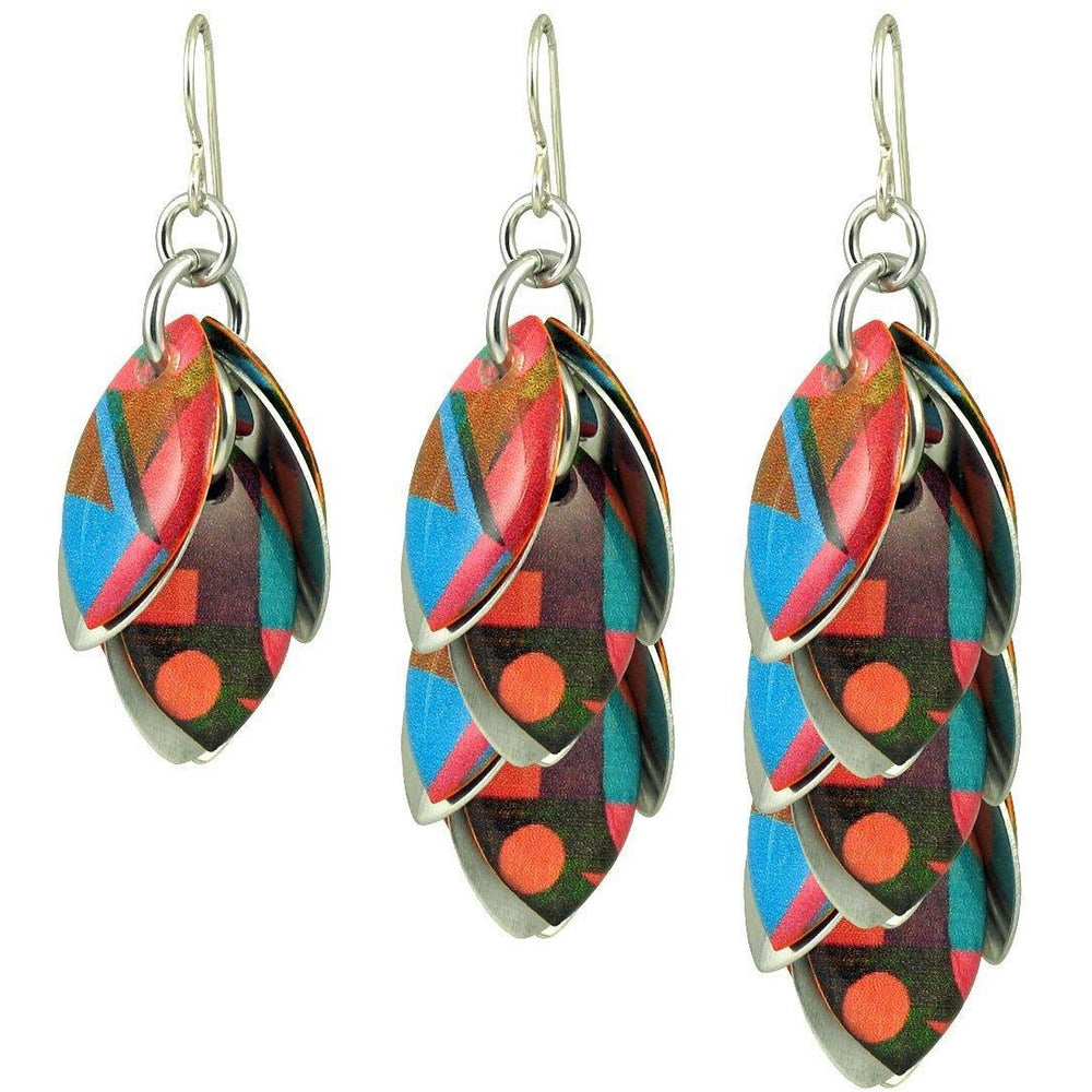 Global Geo Artful Statement Earrings - 3 Lengths - $95 to $225