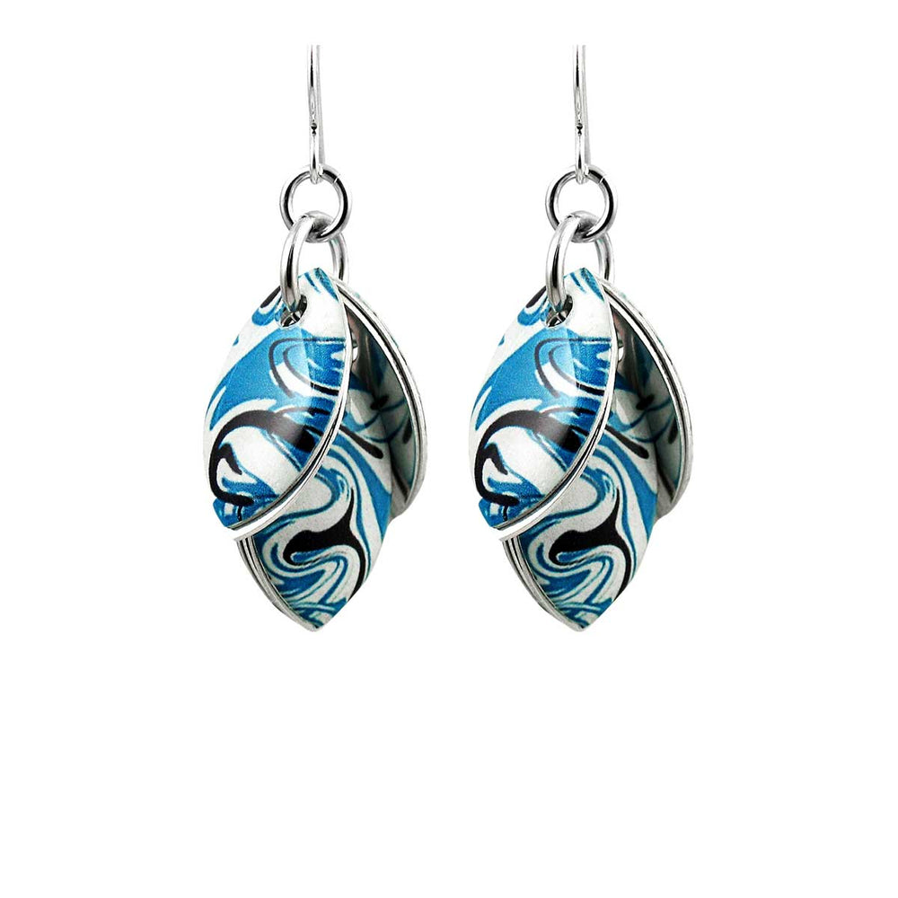 Tidal Wave Earrings - 3 Lengths - $95 to $225
