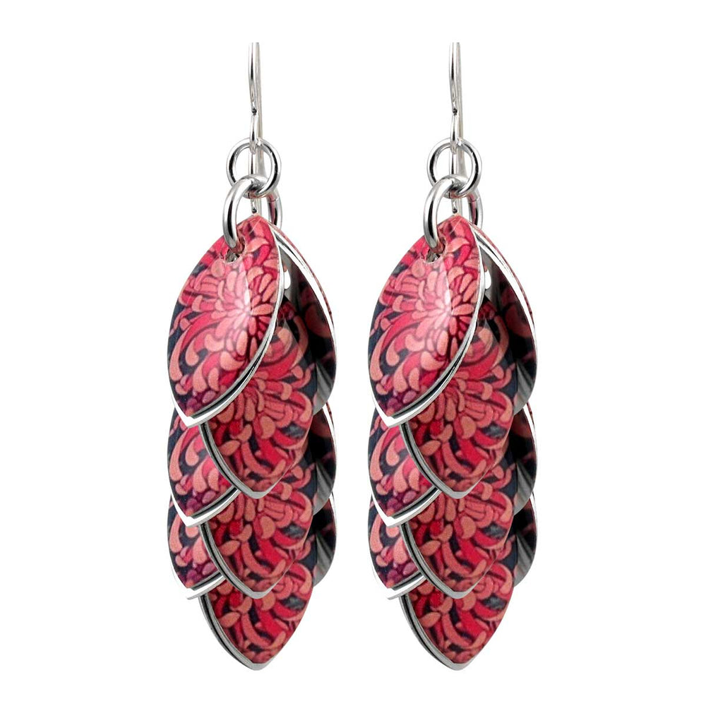 Zinnatopia Earrings - 3 Lengths - $95 to $225