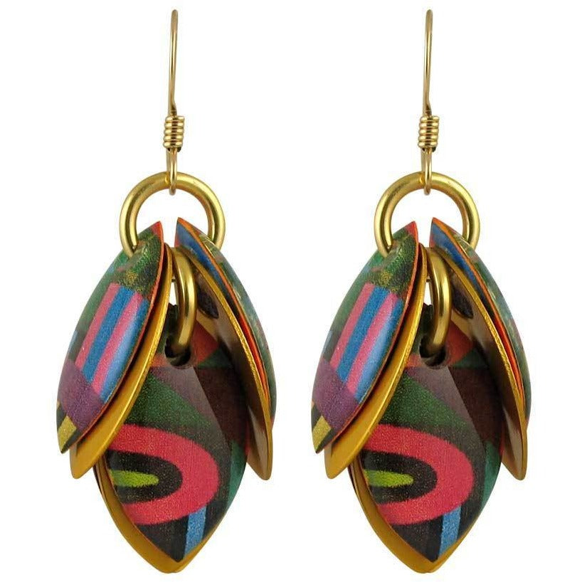 Blocked Out Artful Statement Earrings - 3 Lengths - $95 to $225