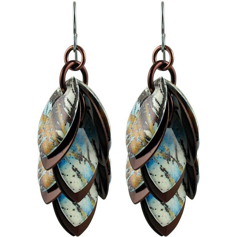 Brazen Botanic Artful Statement Earrings - 3 Lengths - $95 to $225