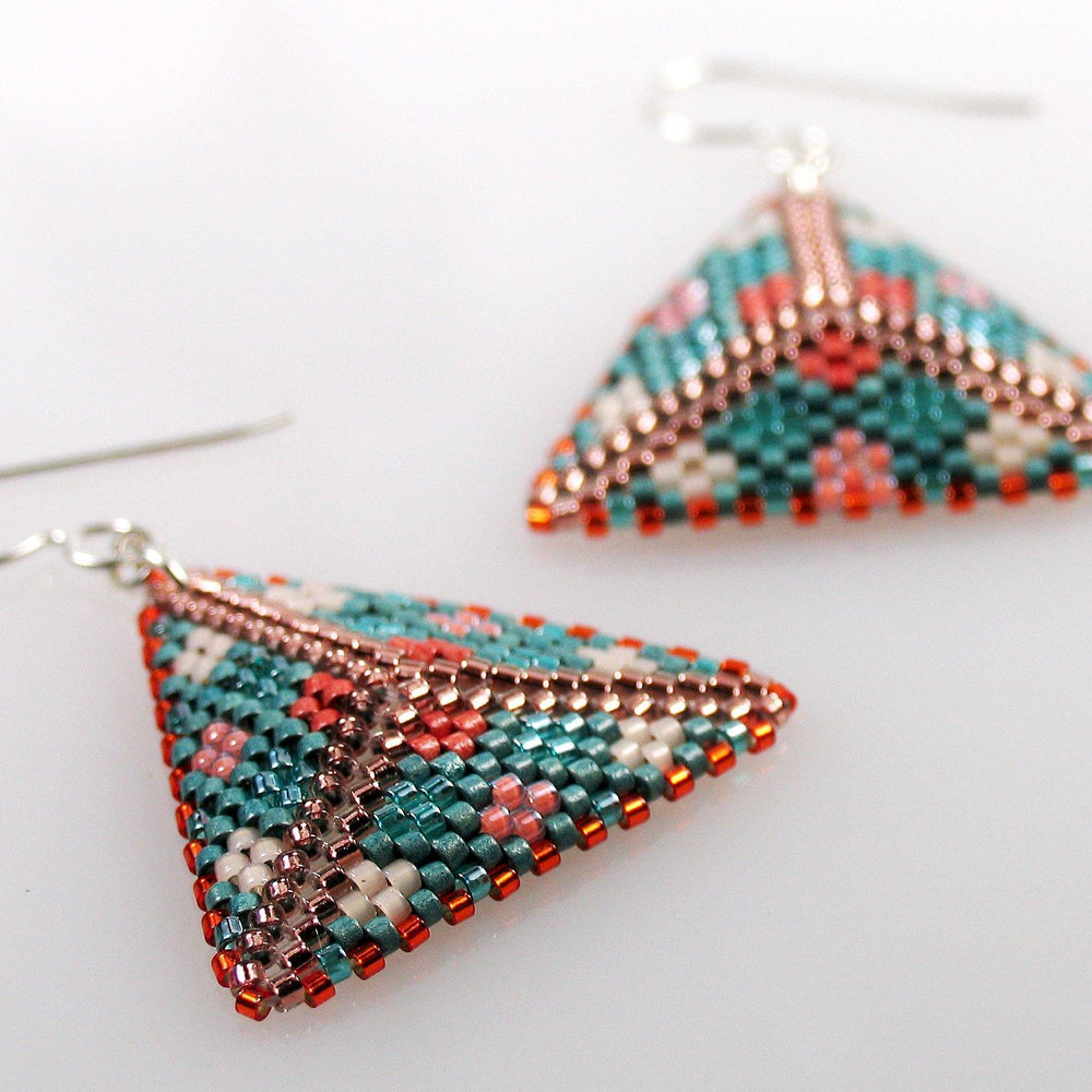 Sedona Flying Triangle Earrings