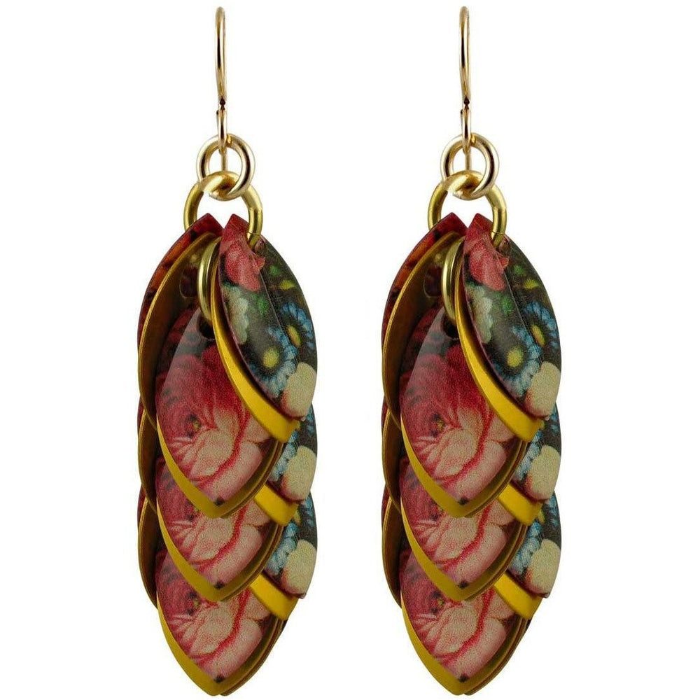 Enchanted Garden Artful Statement Earrings - 3 Lengths - $95 to $225