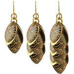 Leopard Print Wire Earrings Diana Ferguson Jewelry